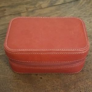 Fossil travel jewelry case